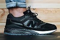 ТОП КАЧЕСТВО ! Черные мужские  кроссовки New Balance  999    р-р 41-44  USA