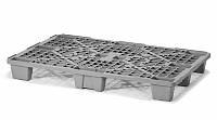 Легкий пластиковый поддон на ножках 1200х800х140 мм (02.102.99.R) черный