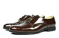 Шикарные классические лаковые коричневые женские туфли Ari Andano ( новинка весна, осень, лето )