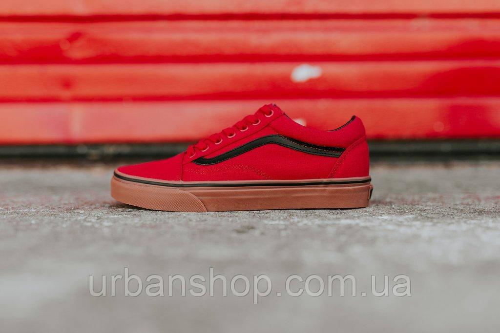 ... Спортивная обувь для мужчин Львов. Кеди Vans Old Skool Gum Red Black 5e71692ceaaab