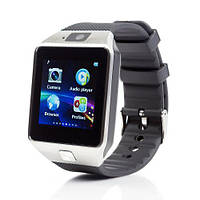 Умные часы Smart Watch GSM Camera DZ09 Silver