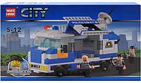 Конструктор City Полицейский грузовик 85007