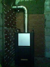 Колено 90 из нержавейки 0,5 мм AISI 304, фото 3