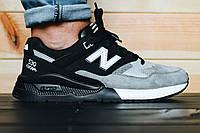 ТОП КАЧЕСТВО ! Черные  мужские  кроссовки New Balance  encap 530 натуральный замш   р-р 41-44 Киев