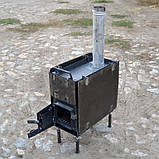 Печь для мобильной бани, фото 2