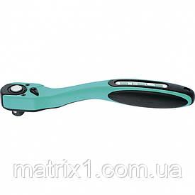 Ключ-тріскачка 1/2, 72 зуба, з швидким скиданням, CrV, 2-х ком. рукоятка Stels