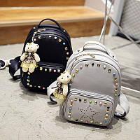 Женский модный набор: рюкзак+клатч+брелок+визитница (2 цвета)