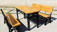 Набор садовой мебели (Стол, скамейки) (Днепр)