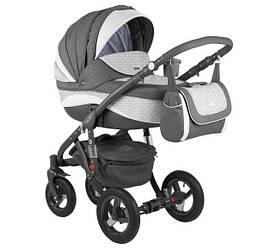Детская коляска универсальная 2 в 1 Adamex Barletta New B-4 (Адамекс Барлетта Нью, Польша)