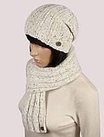 Комплект WK-504 шапка шарф
