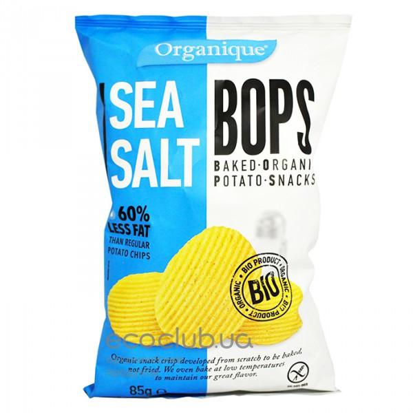 Картофельные снеки с морской солью 85г