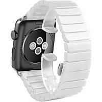Ремешок Ceramic Apple Watch 42mm белый