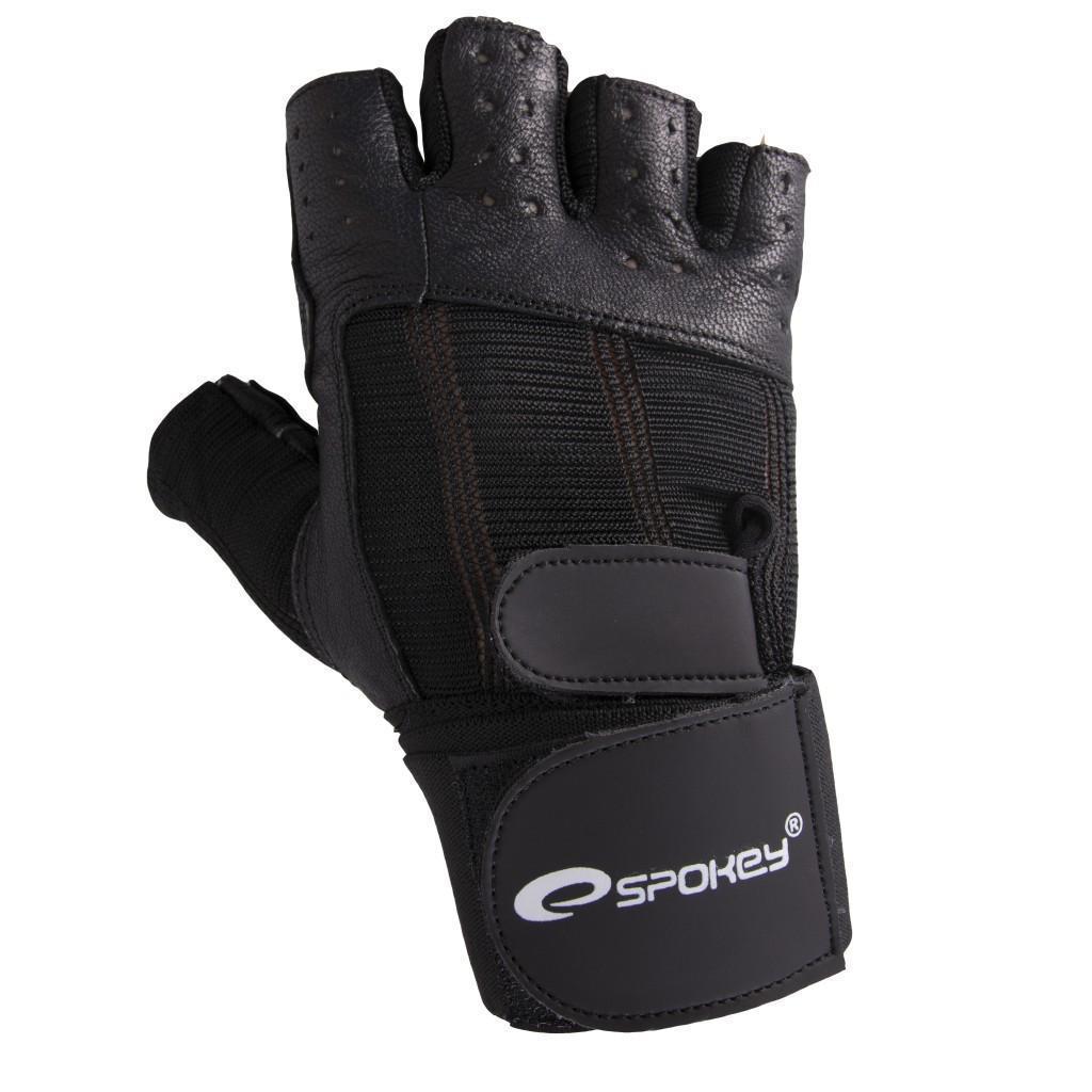 Мужские перчатки для фитнеса Spokey TORO 81796 (original), спортивные атлетические тренировочные