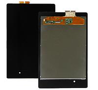 Дисплей (экран) для Asus ME571 Google Nexus 7 (2013) 2 поколение + тачскрин, цвет черный