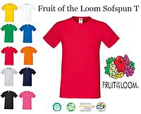 Мужская футболка Fruit of the Loom Sofspun T