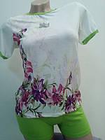 Домашний женский комплект с шортами, Турция