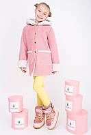 Модная дубленка для девочки и подростка (разные цвета)