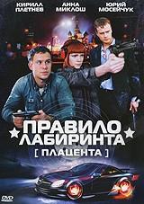 DVD-диск Плацента. Правило лабиринта (К.Плетнёв) (сериал) (Россия, 2009)
