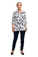 Женская блуза большого размера 1710034/1