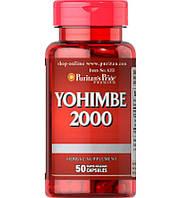 Puritans Pride Yohimbe 2000 mg 50 caps пуританс прайд йохимбе