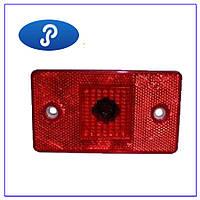 Фонарь задний габаритный со световозвращателем красный ФГС-113