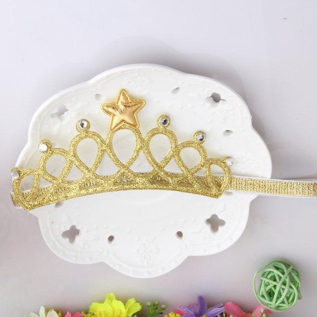 Корона повязка для новорожденных