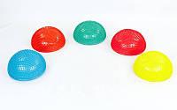 Полусфера массажная балансировочная Balance Kit 5681: 5 цветов, 34х7,5см
