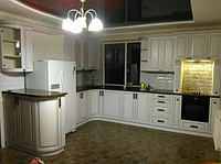 Кухня в белой эмали