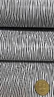 Кожа КРС PAGLIA белый/ черный 1,5-1,7 мм Италия