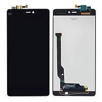 Дисплей Xiaomi Mi4c ксиоми с тачскрином в сборе, цвет черный
