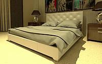 Кровать Морфей в обивке с мягким изголовьем двуспальная