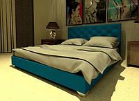 Кровать Морфей в обивке с мягким изголовьем полуторная