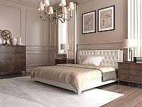 Кровать Тиффани с подъемным механизмом с мягким изголовьем двуспальная
