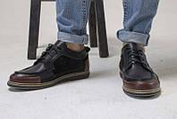 Туфли мужские кожа натуральная закрытые 0468УКМ