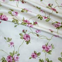 Ткань в стиле прованс розы средние фрез испания