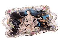 Блюдо прямоугольноеHelen Decor Royal Collection Маркиза 33см 127-585