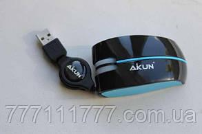 Компьютерная мышь Aikun LT-63 blue голубой оригинал Гарантия!