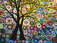 Набор алмазная мозаика GZ Деревья мечты (на подрамнике) (EZ192) 30 х 40 см