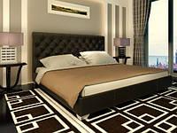 Кровать Классик с подъемным механизмом с мягким изголовьем двуспальная