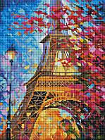 Алмазная мозаика GZ Краски весеннего Парижа (на подрамнике) (EZ209) 30 х 40 см