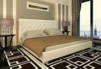 Кровать Классик с подъемным механизмом с мягким изголовьем полуторная