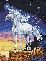Картина из мозаики GZ Единорог (на подрамнике) (EZ274) 30 х 40 см