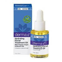 Увлажняющее терапевтическое масло для кожи лица DERMA E