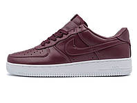Женские кроссовки Nike Air force 1 Low Lab Maroon