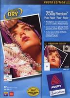 Фотобумага для струйных принтеров Avery Premium глянцевая, А4 250 гр/м.кв (25 листов)