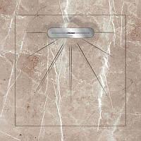 Керамический поддон для душа с сифоном Luхor, 90х90см Aquanit