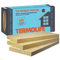 Вата минеральна ТЛ Приват Фасад 50 мм. плотность 115 кг/м3