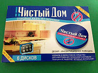 Средство от тараканов Чистый дом, 6 дисков