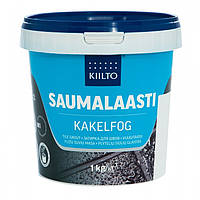 Затирка для швов плитки Kiilto Saumalaasti цвет природно белый № 11 ведро 1 кг.