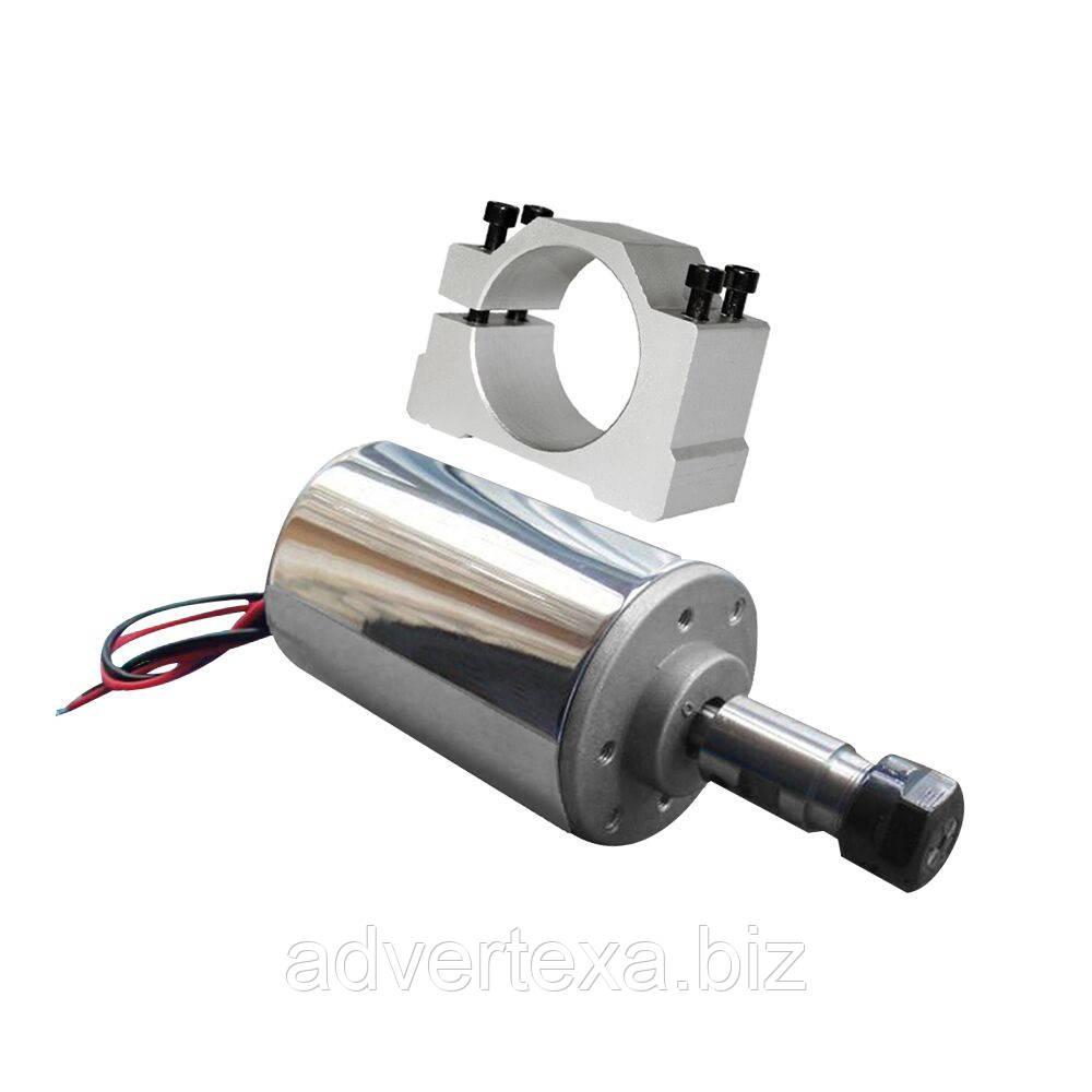 Электро шпиндель 200 Вт 12-48 В с кронштейном для ЧПУ фрезерного станка, ER11 патрон